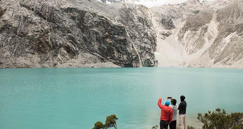 Laguna 69 en el parque Nacional Huascarán