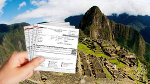 Tickets for Machu Picchu