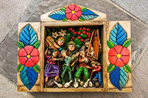 Christmas Retablos from Ayacucho