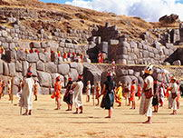 The Sacsayhuaman fortress is one of the venues of the spectacle.