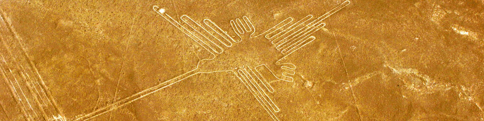 Nasca lines and geoglyphs Hummingbird