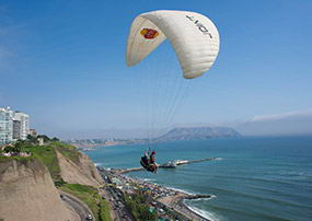 Hang-Gliding and Paragliding
