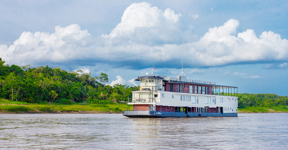 Cruise on the Amazon River